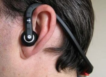 behind neck earbuds headphone style