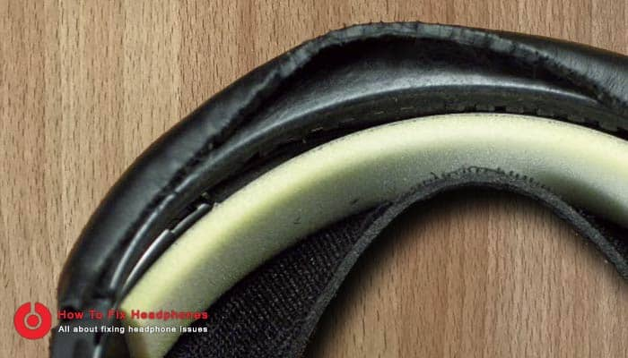 fix broken headphone band cushion