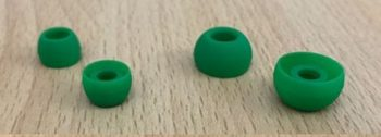 multiple silicone earbuds