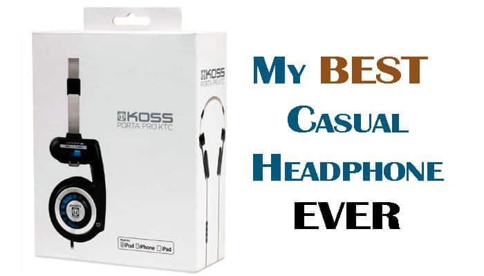 my best casual headphone ever